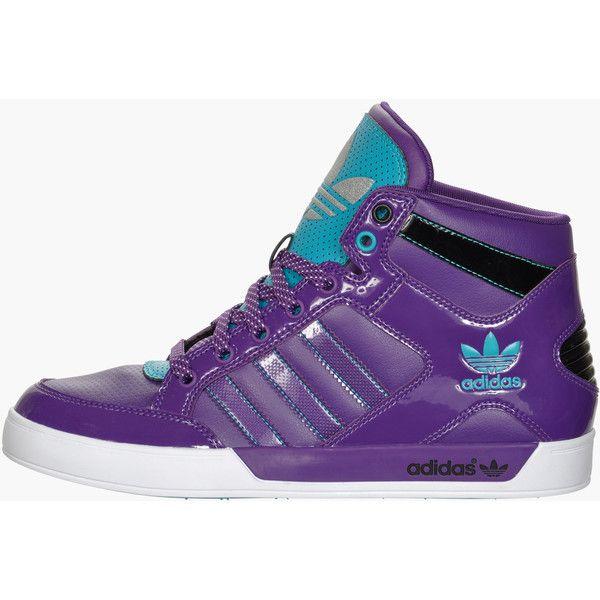 Adidas Originals Hardcourt Hi Women's Casual Shoes ($80) liked on