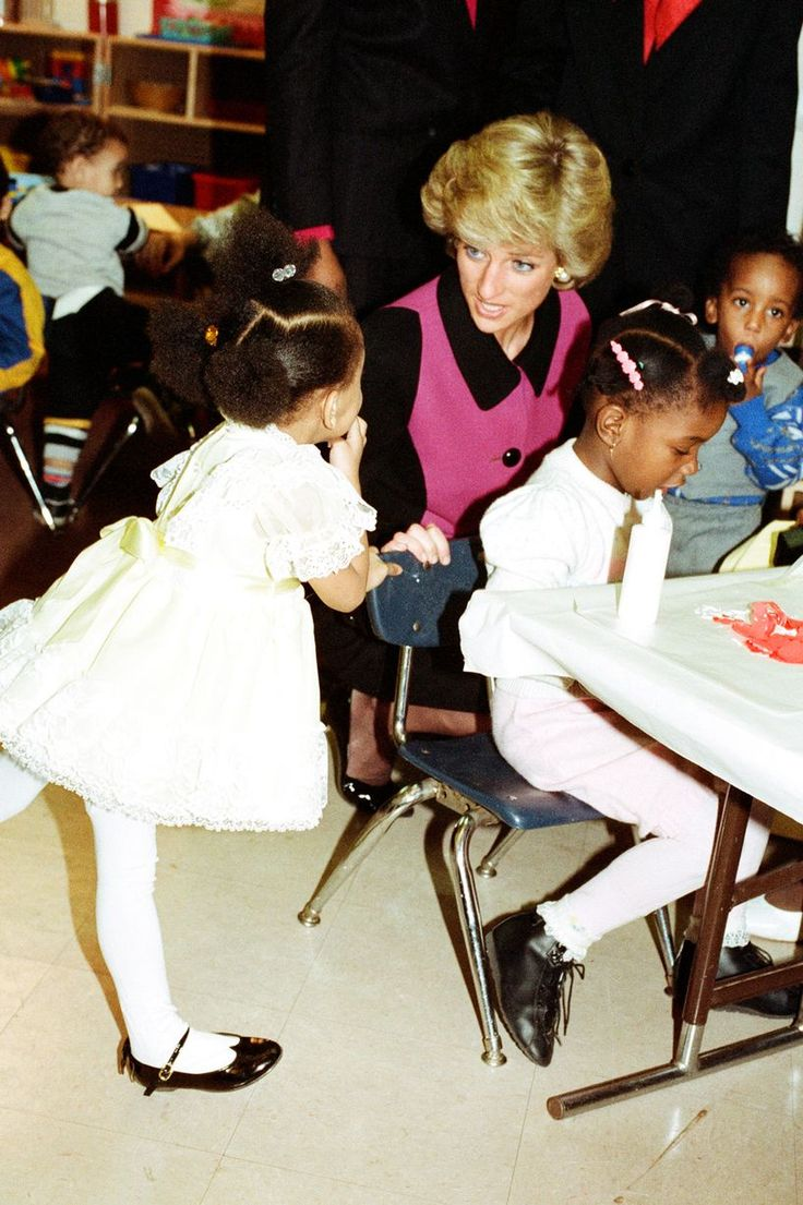 2 Feb 1989 Mirror Online:  School time: Princess of Wales visits a day nursery in New York during visit to the US