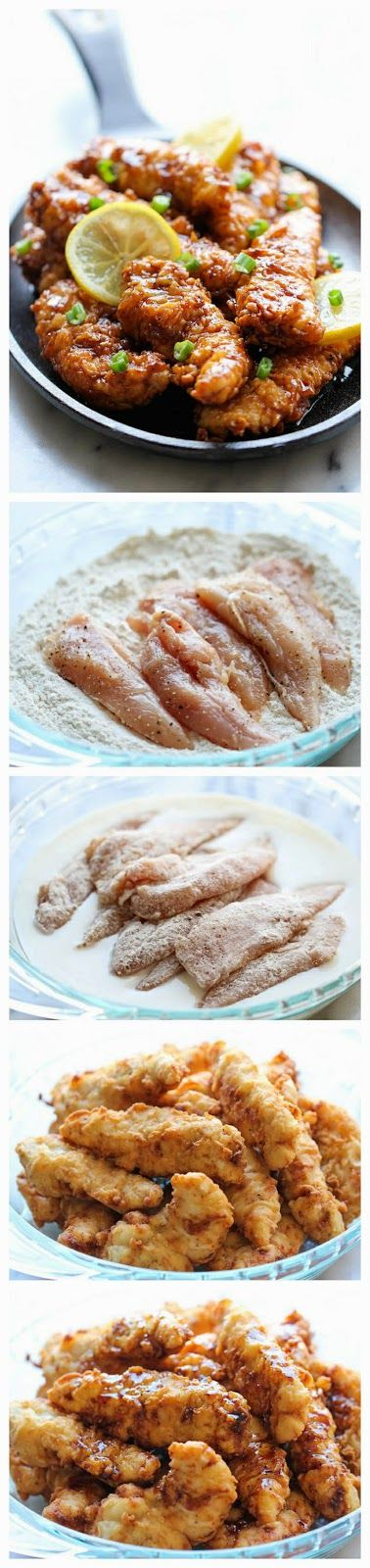 Asian Lemon Chicken Tenders | Recepies | Pinterest