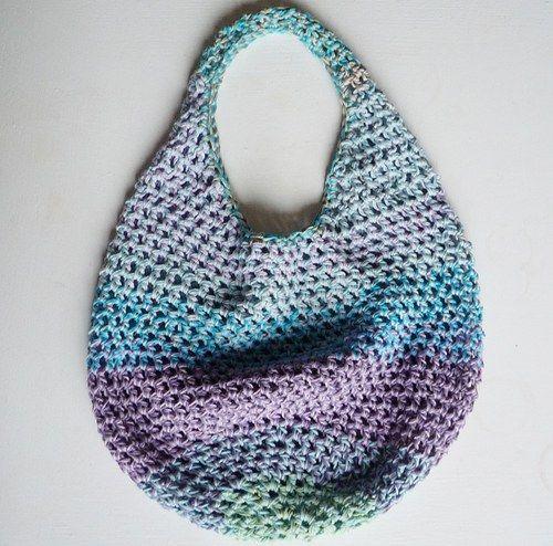 Crochet Rainbow Bag : crocheted bag..rainbow.. Crochet Crafts Pinterest