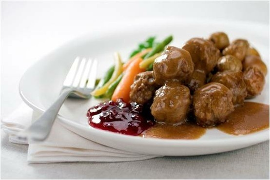 Swedish meatballs. | Food I would want to see on a Food Truck | Pinte ...