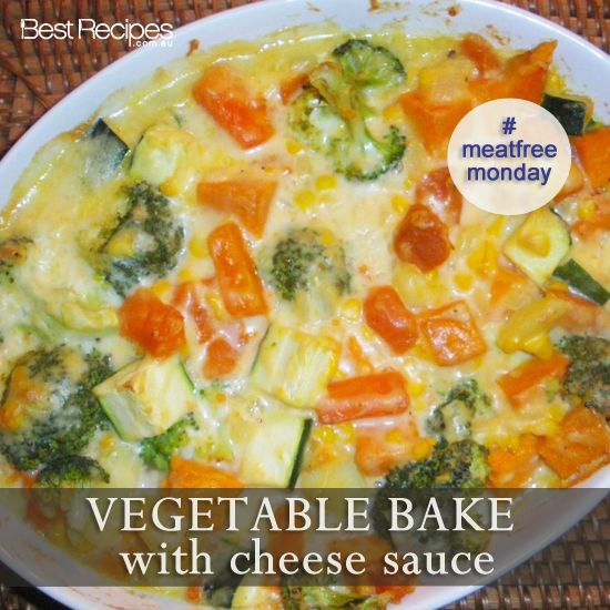 Vegetable Casserole With Tofu Topping Recipe — Dishmaps