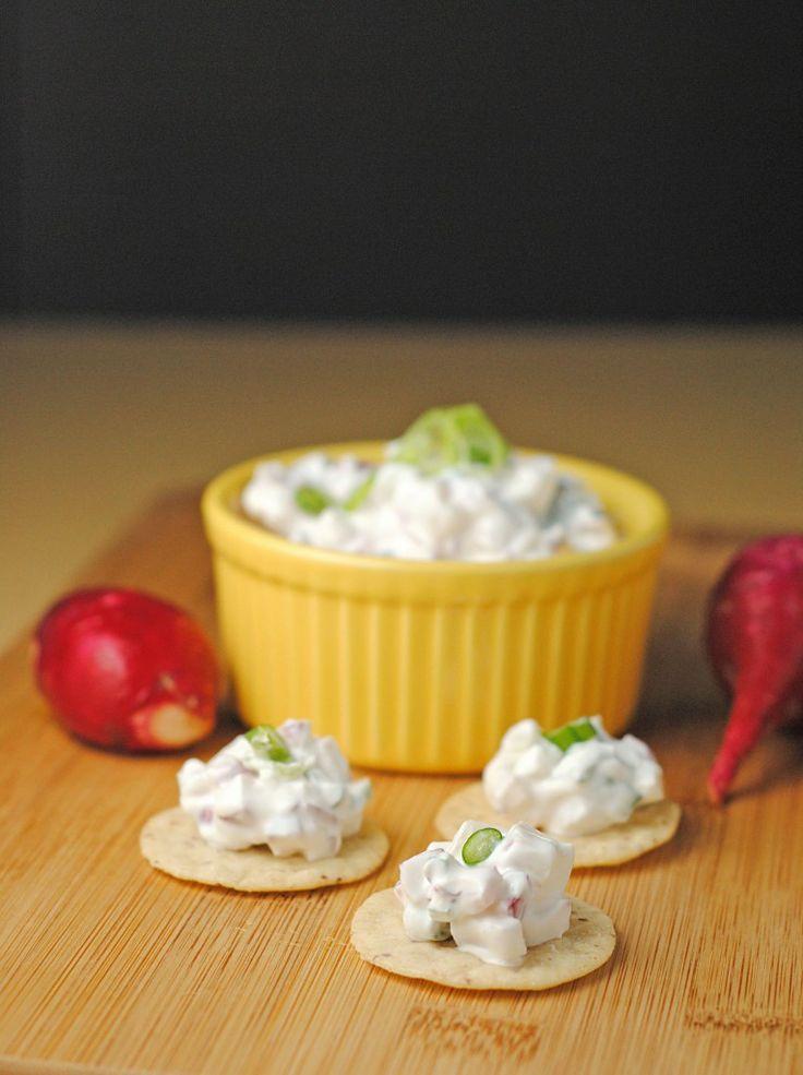 Radish Dip ~ #RecipesFromTheHeart! | Juanita's Cocina 2c radishes ...