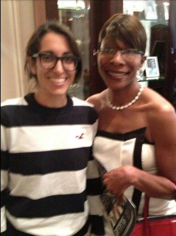 MC with Fan | Michelle... Michelle Williams
