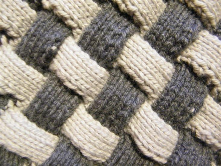 Entrelac Knit and Crochet Stitch Patterns Pinterest