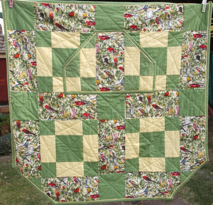 Wheelchair Lap Quilt, with pocket LapQuilts Pinterest