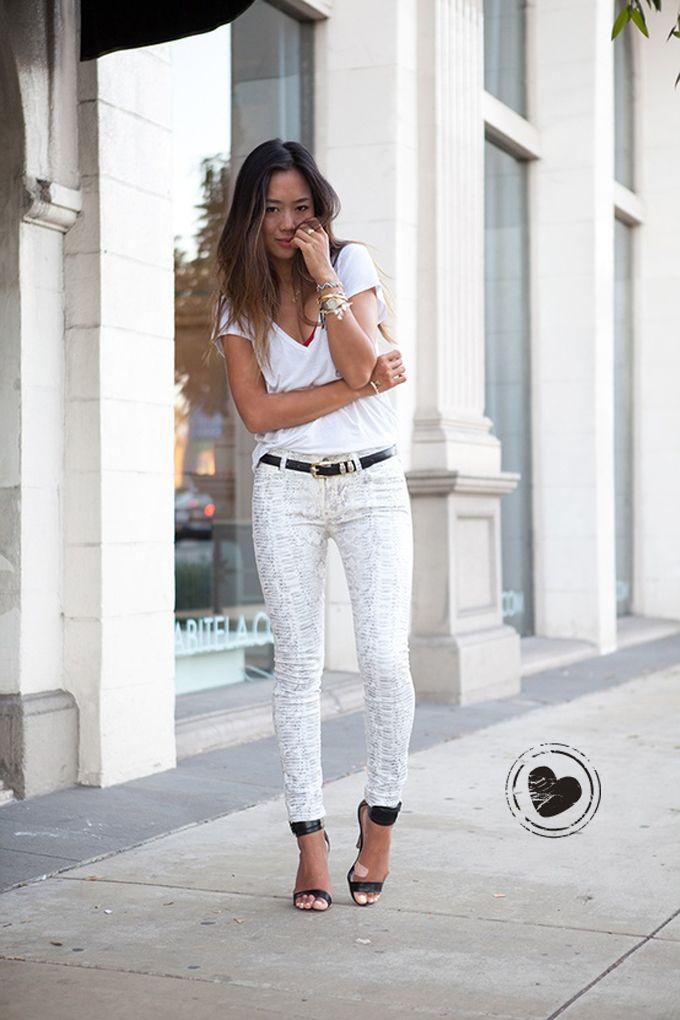 Look Branco // Detalhe Preto