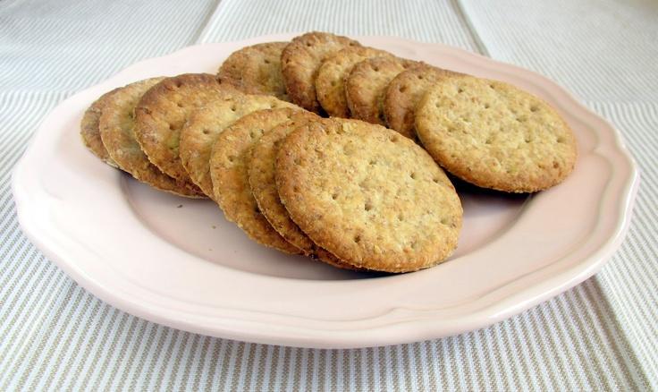 Oat Crackers | Crackers | Pinterest