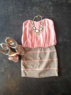 pink and neutral