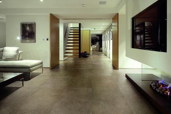 Living Room Porcelain Tiles Floor Wall Tiles Pinterest