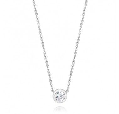 Gem Platinum Diamond Necklace