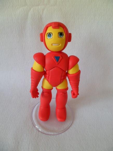Homem de Ferro feito de biscuit. R$70,00