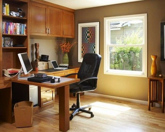 Elegant Home Office Decor Ideas Office Design Pinterest