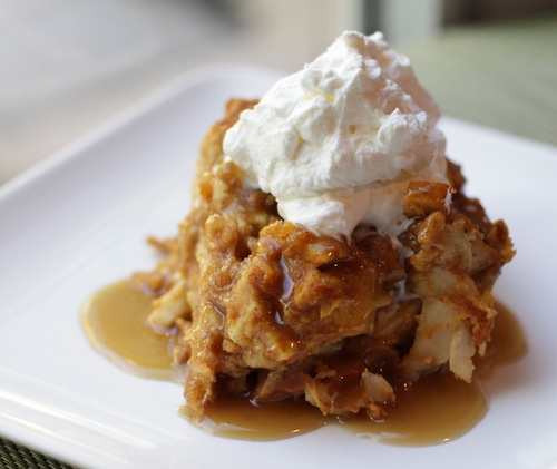 pumpkin bread pudding | Autumn in my Heart | Pinterest