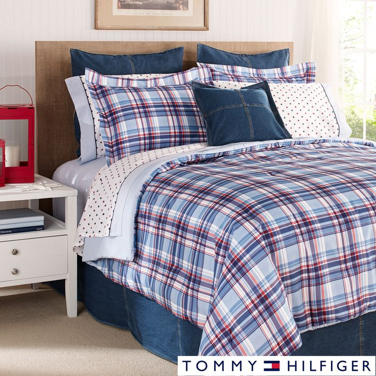 Tommy Hilfiger Lawrence 3 Piece Comforter Set