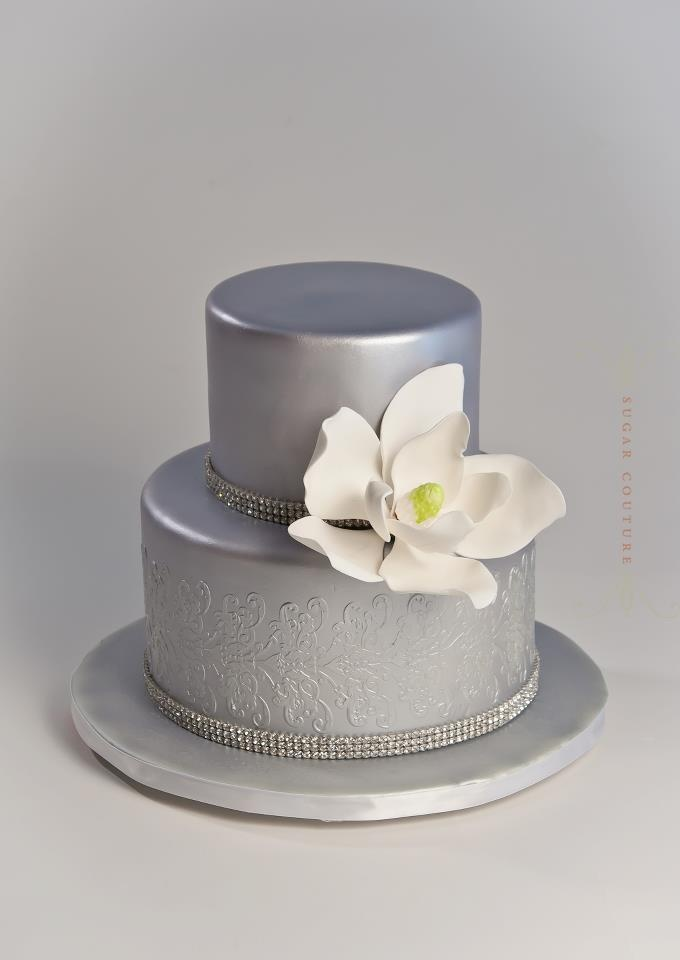 Silver Anniversary Cakes Cake Ideas And Designs