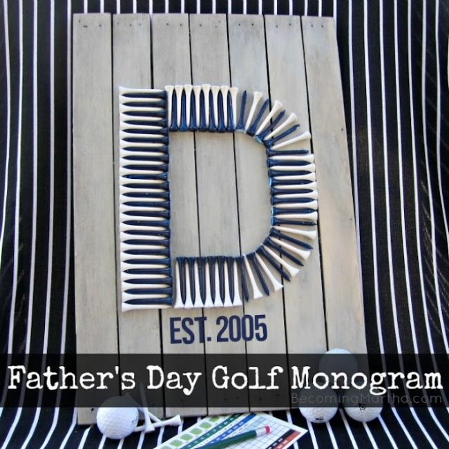 father's day golf ideas