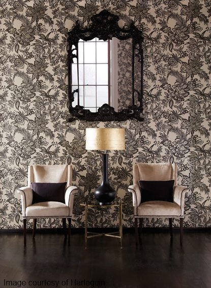 Feature walls wallpaper home pinterest for Feature wall wallpaper
