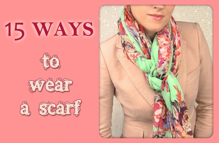 pin by betty smith on how to wear a scarf