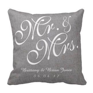 Weddings Pillows, Weddings Throw Pillows