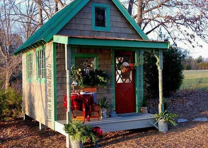 Cute Shed Garden Patio Pinterest