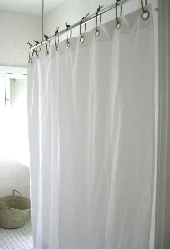 DIY Shower Curtain The Simple Way