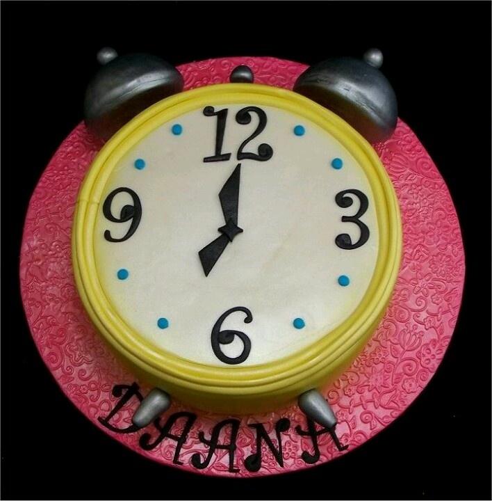 Retirement Clock Cakes Cake Ideas And Designs