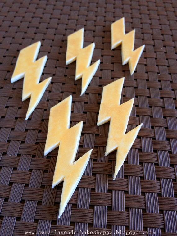 Lightning Bolt Candies!