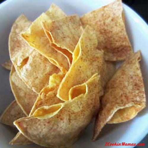 Easy Homemade Tortilla Chips | good eats! | Pinterest