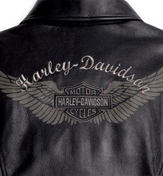 Harley-Davidson Women's Midweight Horizon Leather Motorcycle Jacket