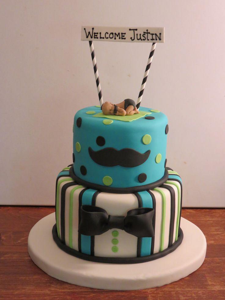little man baby shower cake cakes design ideas pinterest
