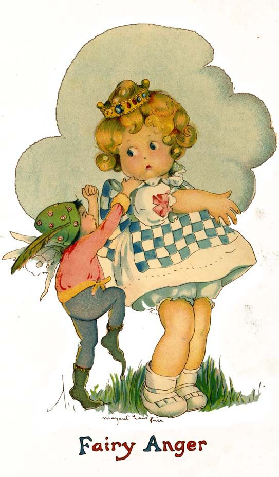 Betty Fairy Book, 1919 illustrated by Margaret Evans Price
