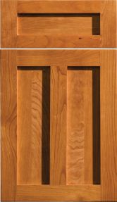 Heritage Panel - DC Door, Cabinetry, Cabinet Door, Shown In Cherry, Ginger