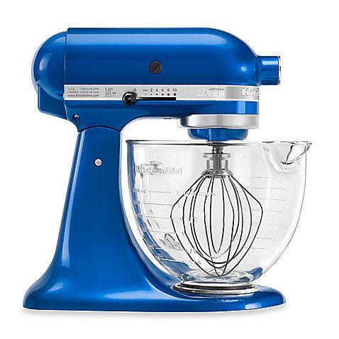 KitchenAid® 5Quart Artisan™ Design Series Stand Mixer with Glass