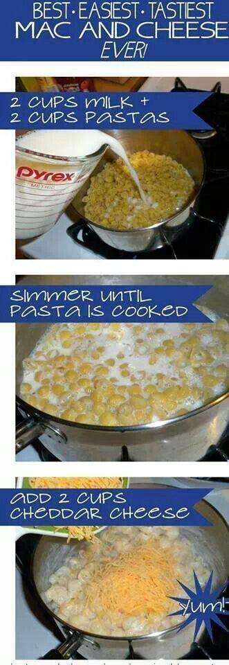 Easy Mac n Cheese. | Food | Pinterest