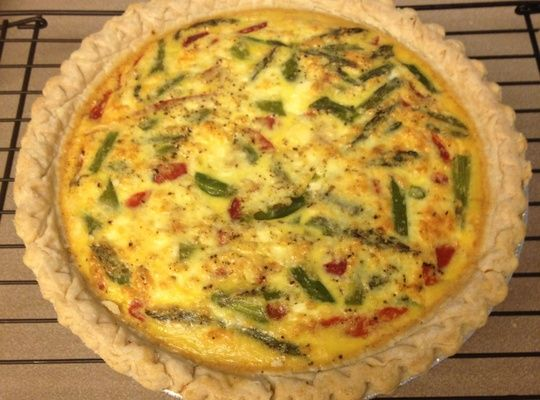 How to cook an easy breakfast quiche recipe