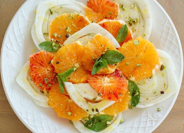 Fennel and Orange Salad | Food | Pinterest