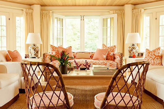 Amazing Peach and White Living Room 640 x 426 · 64 kB · jpeg