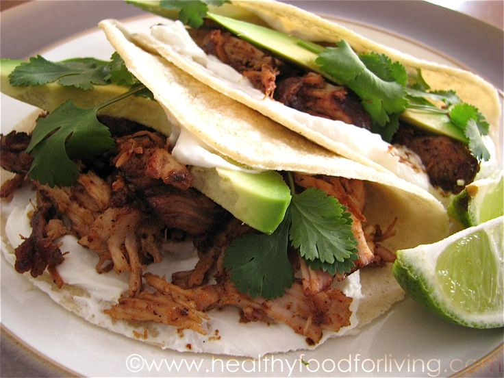 Carnitas (Pulled Pork Tacos) | FoOd | Pinterest