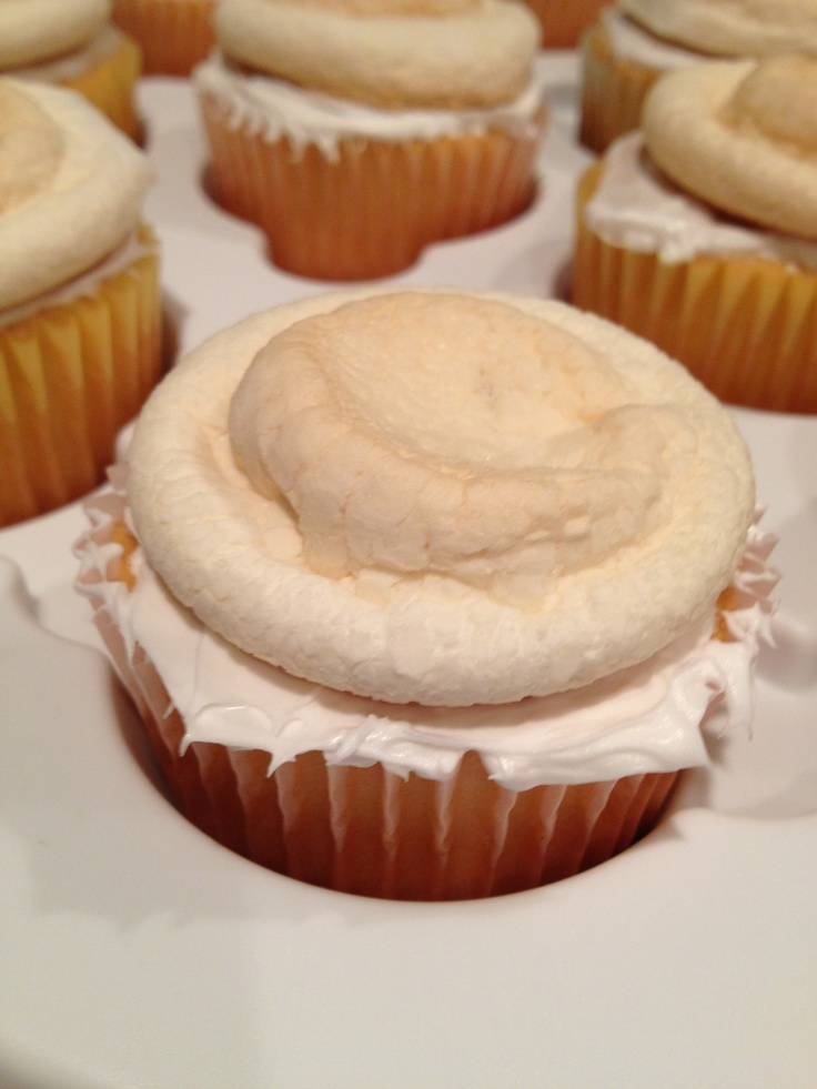 Toasted marshmallow cupcakes | Cake - Cup cakes | Pinterest
