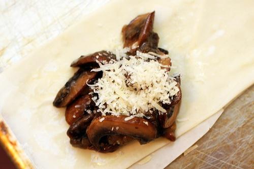mushroom strudel by smitten kitchen