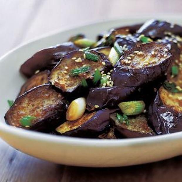 Stir-Fried Sesame Eggplant   Recipe Book - dinner   Pinterest