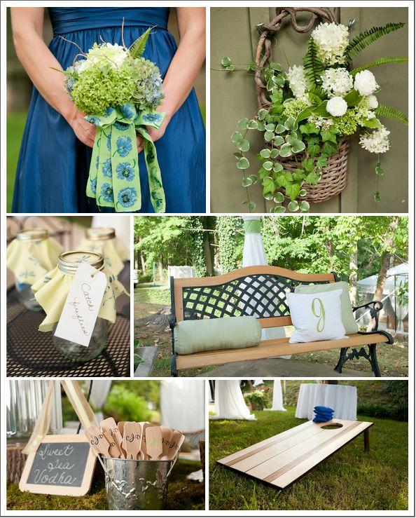 Rustic Elegant Backyard Wedding : Elegant Rustic Country Backyard Wedding In Tennessee  Rustic Wedding