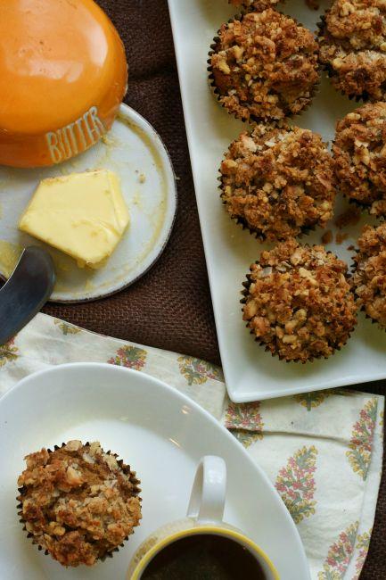 Pumpkin Streusel Muffins (Paleo, Gluten-Free, Grain-Free) : Oven Love