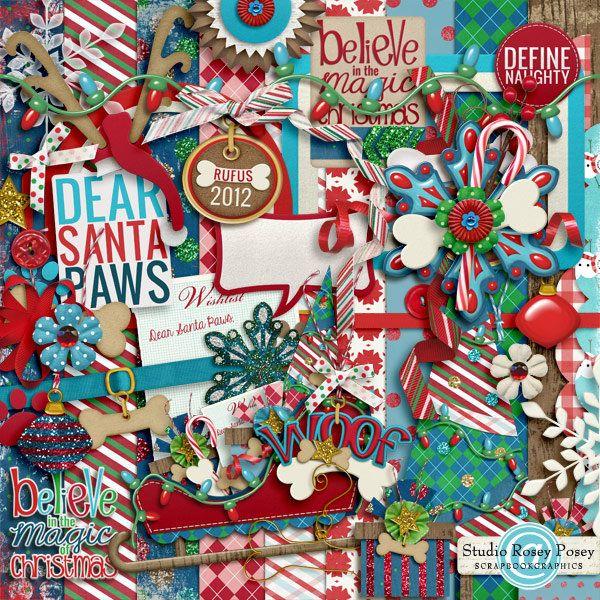 Dear Santa Paws | Scrapbook Wishlist | Pinterest