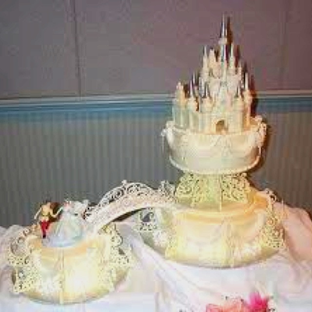 cinderalla wedding cake