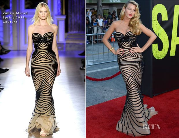 breathtaking dress!!!!!! Blake Lively In Zuhair Murad Couture - 'Savages' LA Premiere