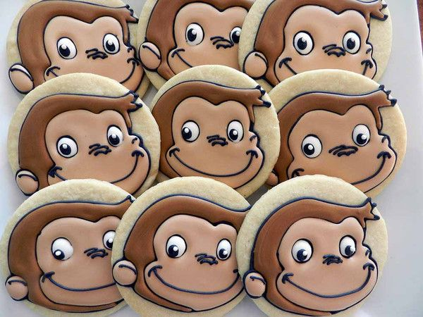 how to make curious george cookies