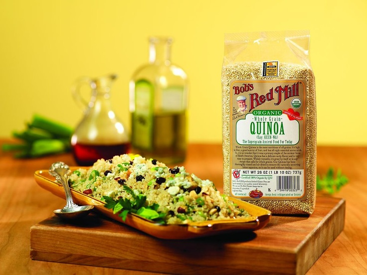 Quinoa - love @Bob's Red Mill products! | Food & Drink | Pinterest