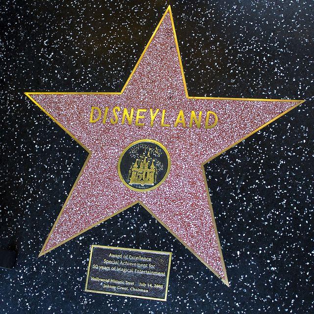 hollywood walk of fame disneyland my travels pinterest
